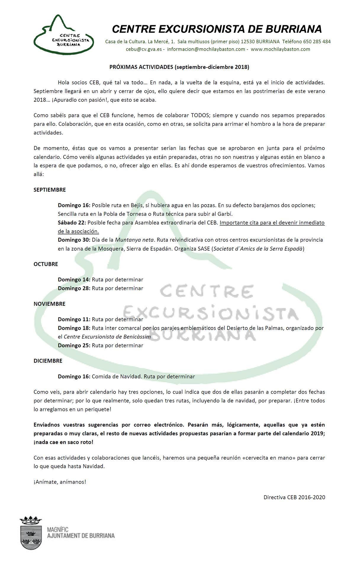 Actividades_cuarto_trimestre_2018